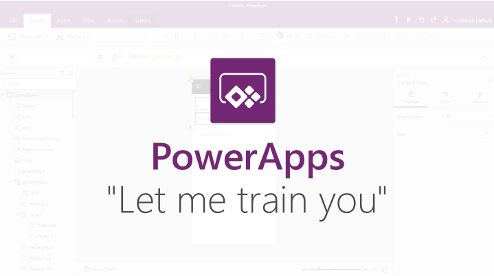 I will train you in PowerApps, Flow and the Common Data