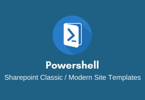 I will deliver a Sharepoint Modern Site Template