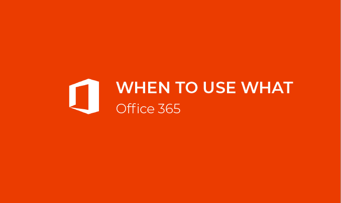 I will teach you how to get the most out of Office 365