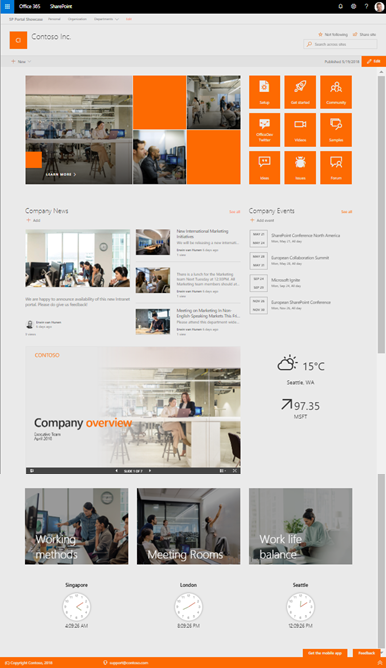I will deliver a SharePoint Classic or Modern Site Template