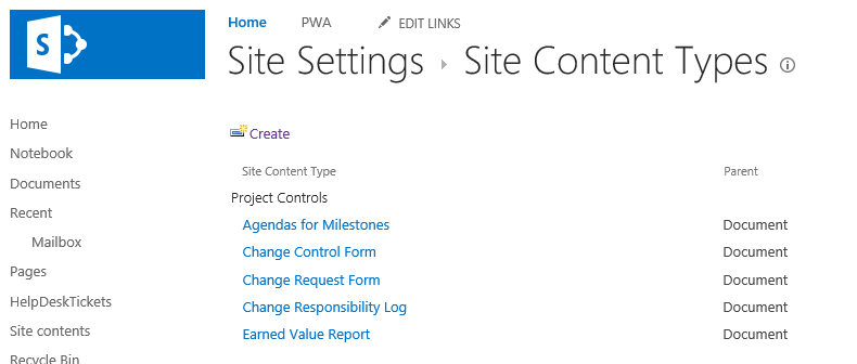 I will create easily managed SharePoint Content Types