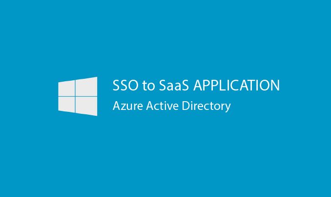 I will configure your Azure AD for SSO to a SaaS application
