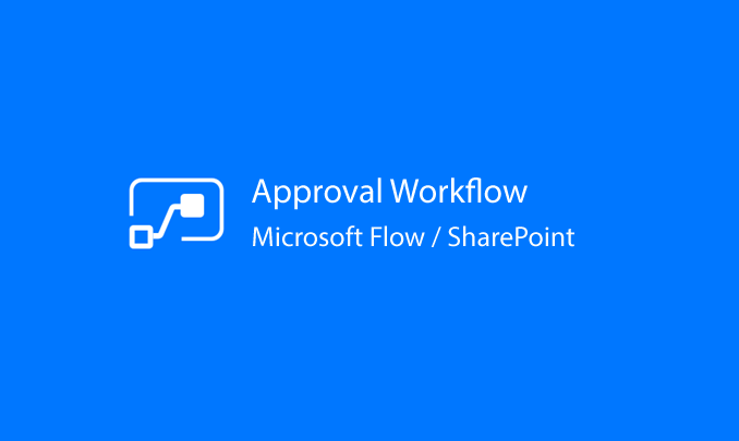 I will help you create an Approval Process with SharePoint and Flow