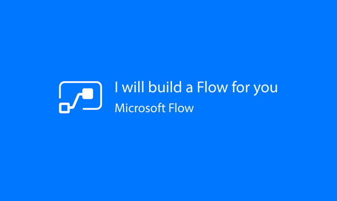 I will spend four hours developing a Microsoft Flow with Sharepoint Online