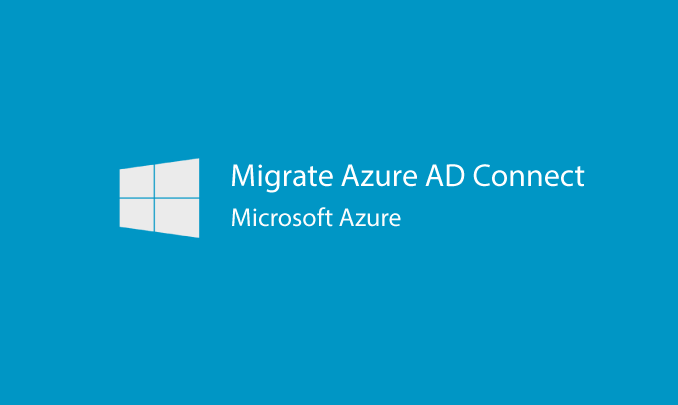 I will migrate Azure AD Connect to a new server for you