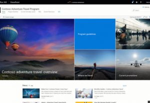 I will create a new modern homepage for SharePoint
