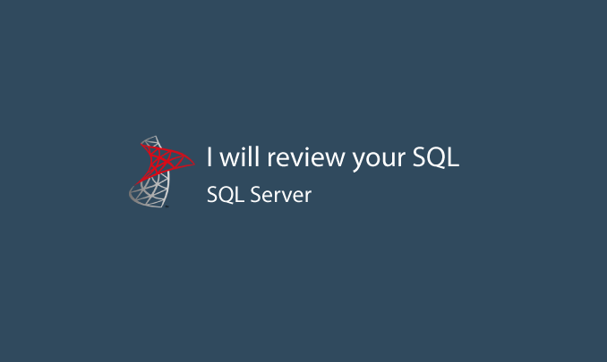 I will perform a general SQL Server review