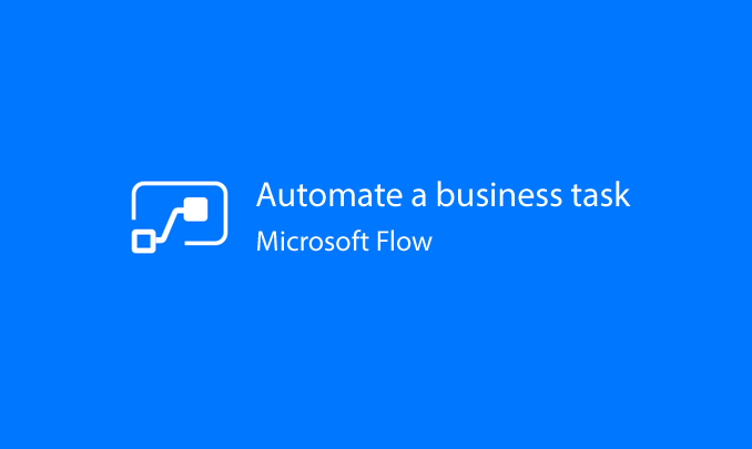I will help you design a flow to automate a business task