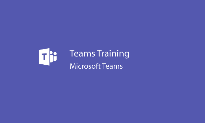 I will train you on Microsoft Teams