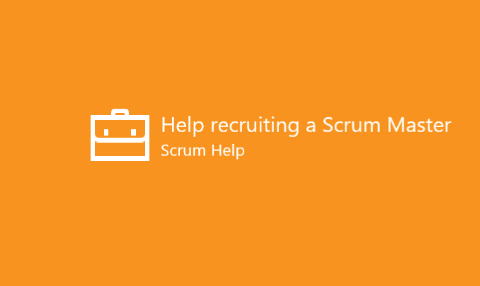 I'll help you recruit the best Scrum Master for your organisation