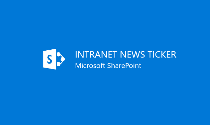 I will create a SharePoint News Ticker for your modern SharePoint intranet