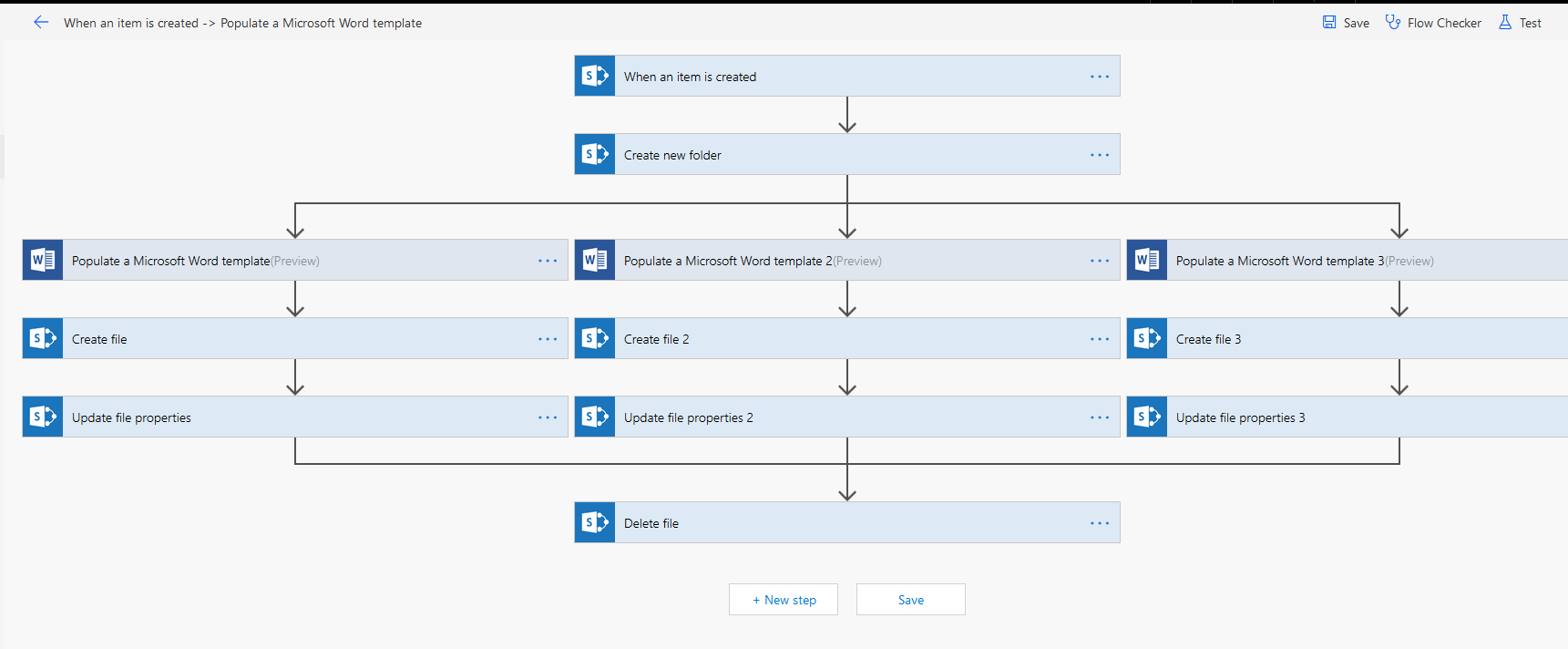 I will recreate your SharePoint Workflow in Microsoft Flow