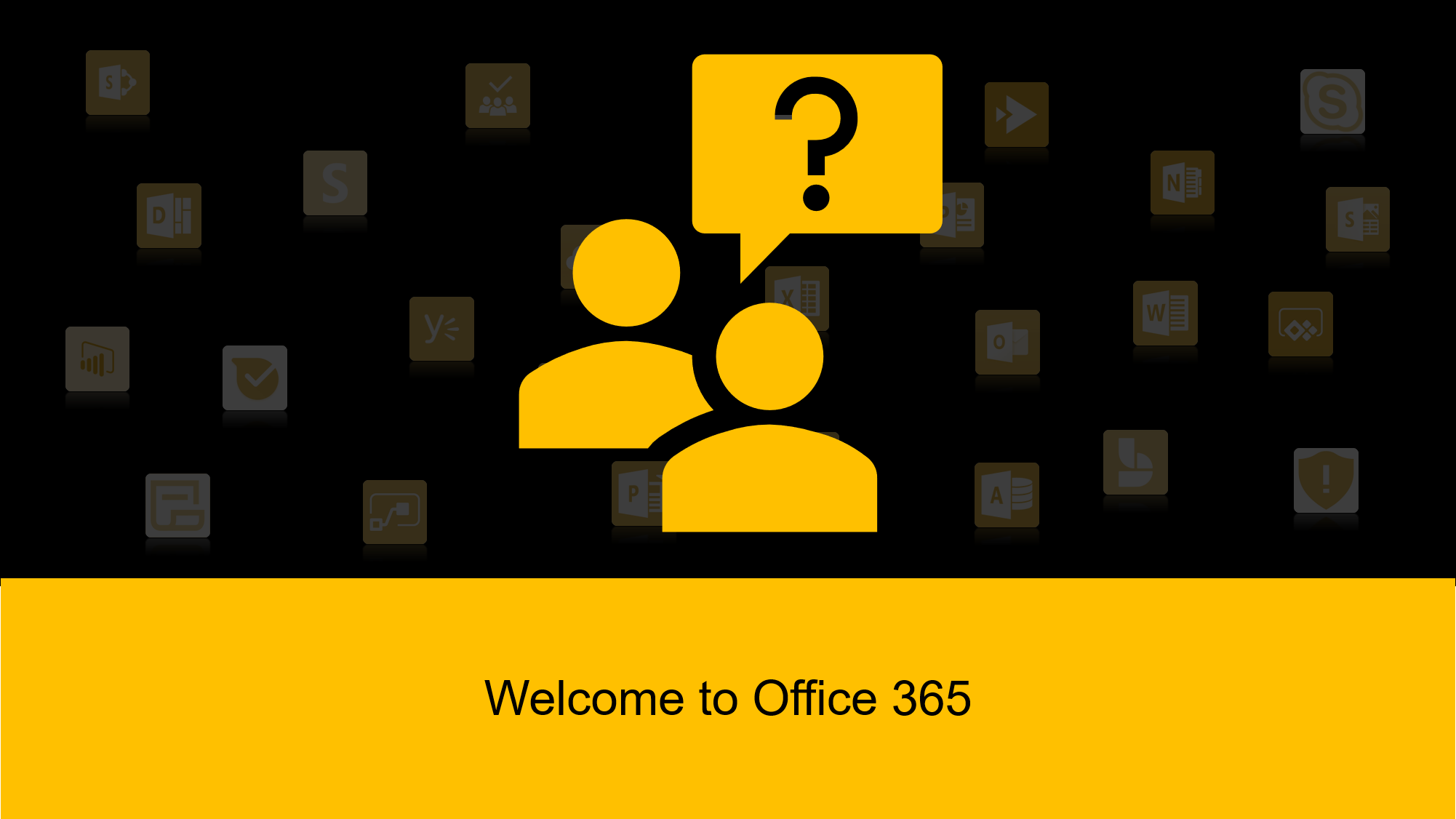 I will welcome you to Office 365! (Just 10$ for the first 5)