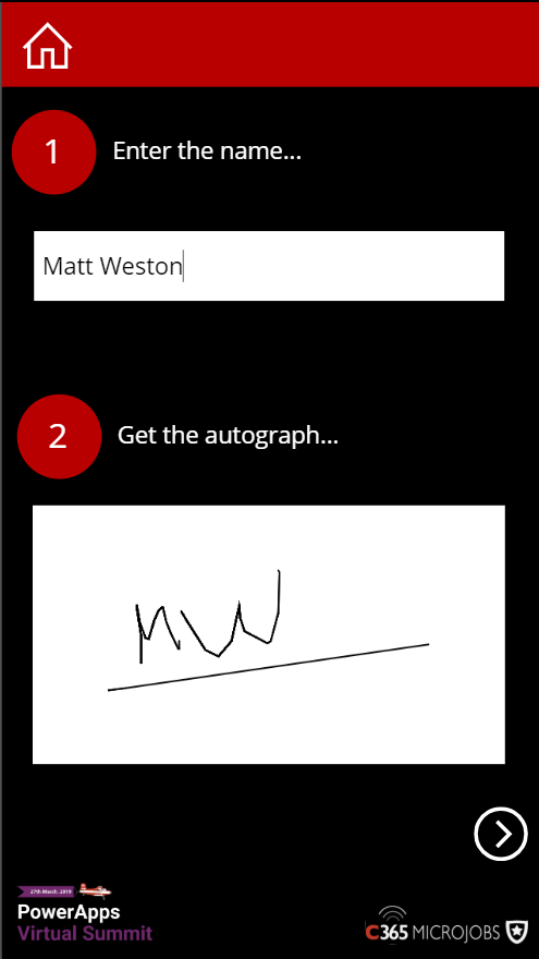 Creating an autograph book with PowerApps, Flow, SharePoint and