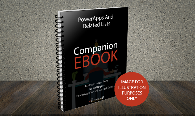 Download the PowerApps and Related Lists Companion Ebook
