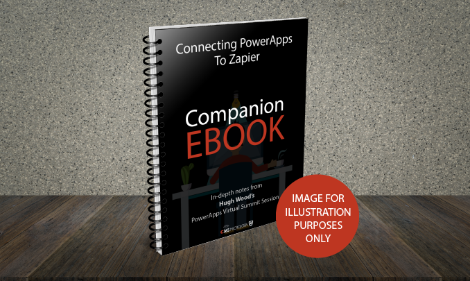 Download the Connecting PowerApps to Zapier Companion Ebook