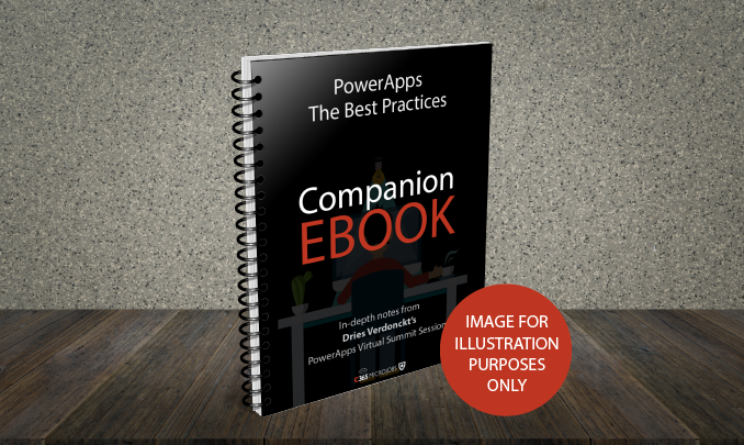 Download the PowerApps – The Best Practices – Companion Ebook