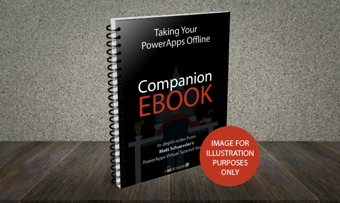 Download Taking your PowerApps Offline Companion Ebook