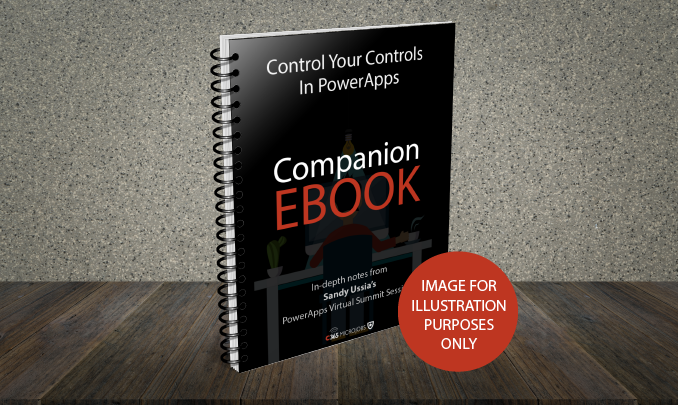 Download the Control your Controls in PowerApps Companion Ebook