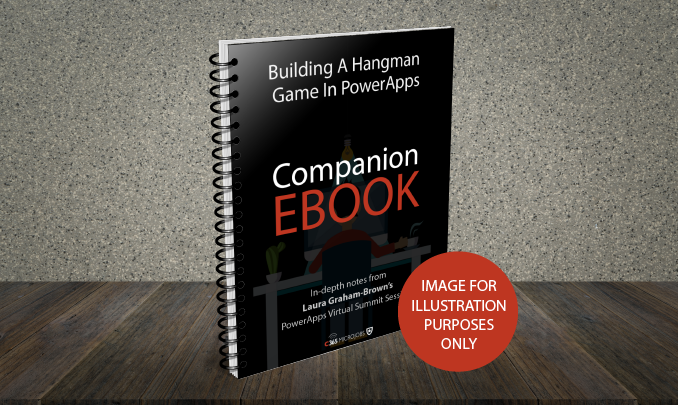 Download the Building a Hangman Game in PowerApps Companion Ebook