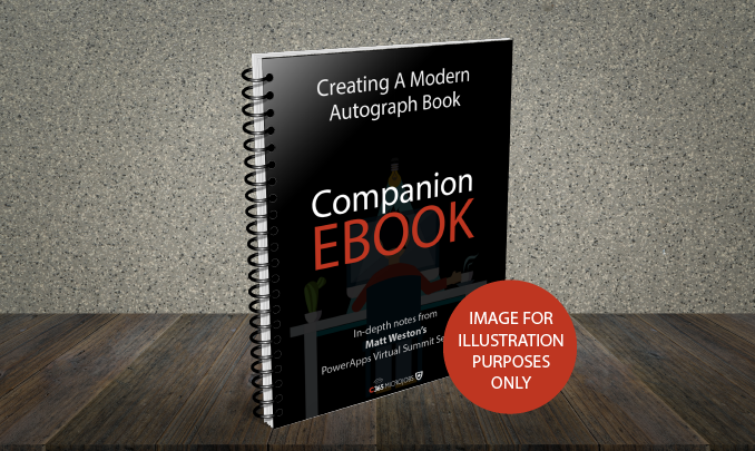 Download the Creating a Modern Autograph Book Companion Ebook
