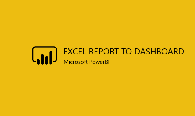 I will convert your Excel report into PowerBI dynamic dashboard