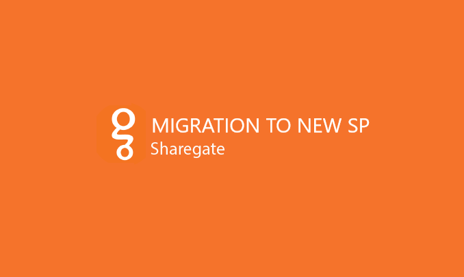 I will migrate your data to new SP environment using ShareGate