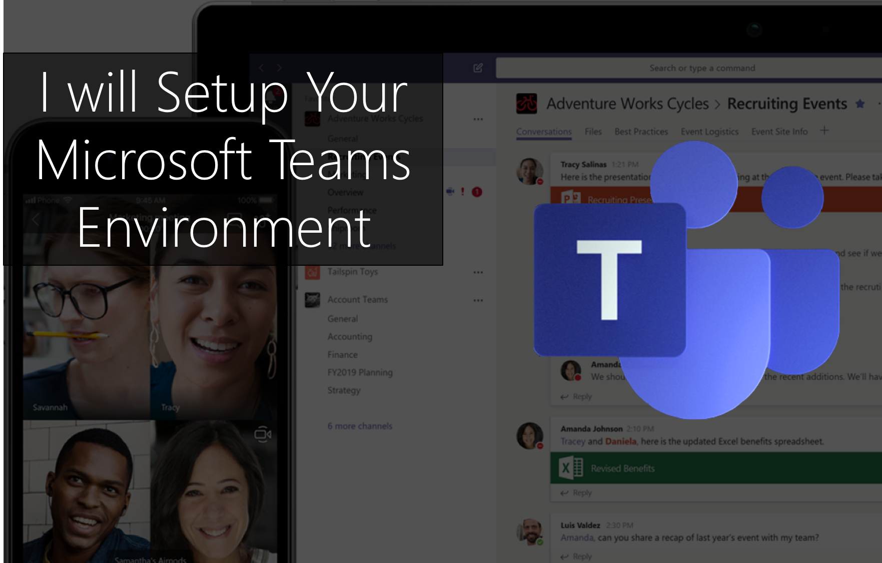 I will Setup Microsoft Teams