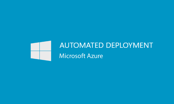 I will provide an automated Azure Deployment, using ARM templates and scripts